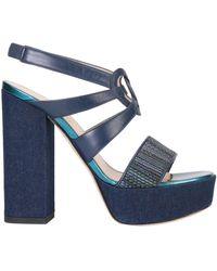 Lella Baldi Sandals - Blue