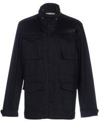 Macchia J Coat - Blue