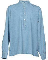 Michael Bastian Chemise en jean - Bleu