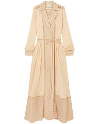 ARJE Midi Dress - Natural