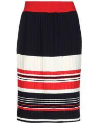 Chinti & Parker Knee Length Skirt - Blue