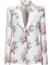 Paco Rabanne Suit Jacket - White