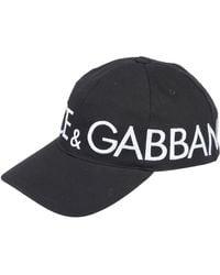 Dolce & Gabbana Chapeau - Noir