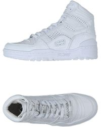 DKNY Sneakers & Tennis shoes alte - Bianco