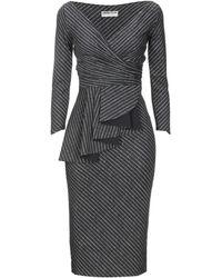 La Petite Robe Di Chiara Boni - Vestido por la rodilla - Lyst