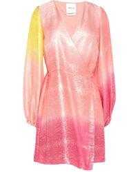 Black Coral Kurzes Kleid - Pink