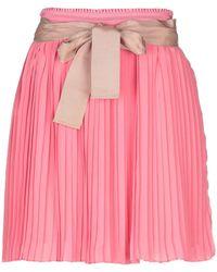 Scee By Twin-set - Mini Skirt - Lyst