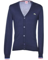 Lacoste - Cardigans - Lyst