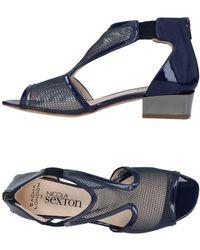 NICOLA SEXTON Sandals - Blue