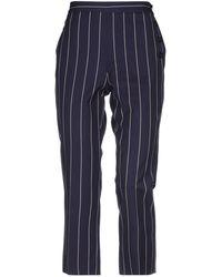 Victoria, Victoria Beckham Pantalon - Bleu