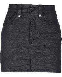 Dondup Mini Skirt - Black