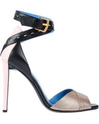 Vionnet Sandale - Blau