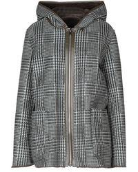 Rino & Pelle Coat - Multicolor