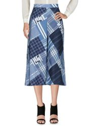 Miguelina 3/4-length Trousers - Blue