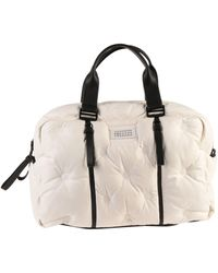 Maison Margiela Travel Duffel Bags - White
