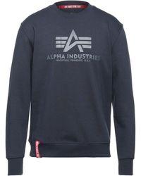 Alpha Industries Sweat-shirt - Bleu