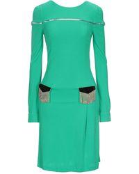 Class Roberto Cavalli Short Dress - Green