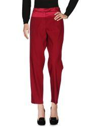 Ferragamo Casual Trouser - Red