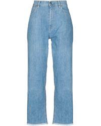 TRUE NYC Denim Trousers - Blue