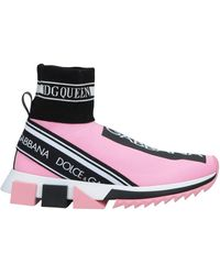 Dolce & Gabbana Sneakers & Tennis shoes alte - Rosa