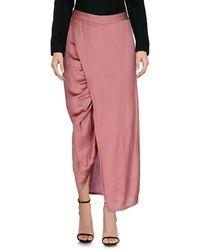 Sies Marjan Long Skirt - Pink