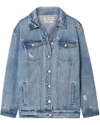 Madewell Denim Outerwear - Blue