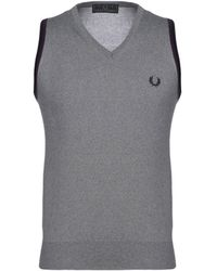 Fred Perry Pullover - Gris