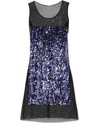 Miu Miu Midi Dress - Purple