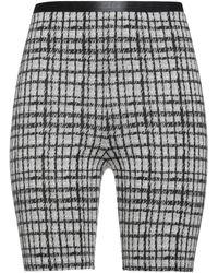 Patrizia Pepe Shorts & Bermuda Shorts - Gray