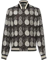Dolce & Gabbana - Ananas Printed Jacket - Lyst