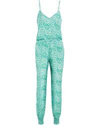 Paloma Blue Pyjama - Vert