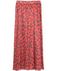 Libertine-Libertine Long Skirt - Red