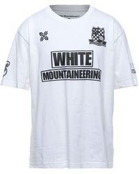 White Mountaineering Camiseta - Blanco