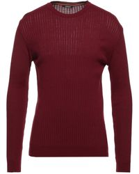 Officina 36 Pullover - Rouge