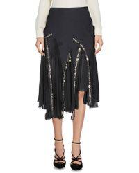 Amen - 3/4 Length Skirt - Lyst