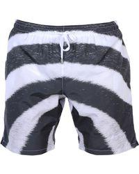Paura Swimming Trunks - Gray