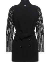 Amen Overcoat - Black