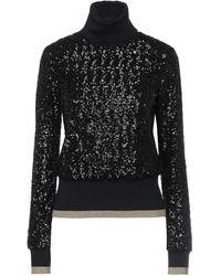 Dolce & Gabbana Col roulé - Noir
