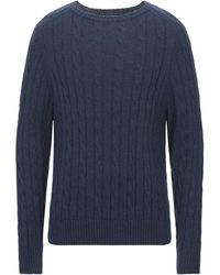 Henry Cotton's Pullover - Azul