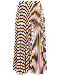 MSGM - Long Skirt - Lyst