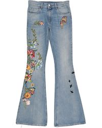 Gucci Denim Trousers - Blue