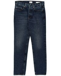 Covert Denim Trousers - Blue