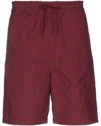 Nanamica Bermuda Shorts - Red