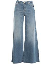 Silvian Heach Denim Pants - Blue