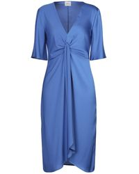 ..,merci 3/4 Length Dress - Blue