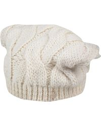 41cd6ef8040 Patrizia Pepe Plexy Grey Womens Wool Hat in Gray - Lyst