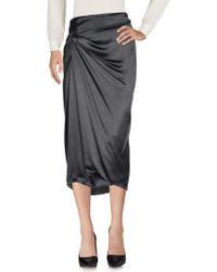 Dusan - 3/4 Length Skirt - Lyst