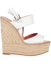 Santoni Sandals - White