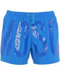 Moschino Short de bain - Bleu