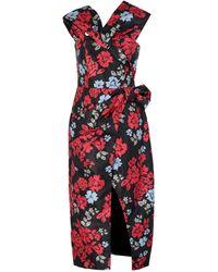 C/meo Collective 3/4 Length Dress - Black